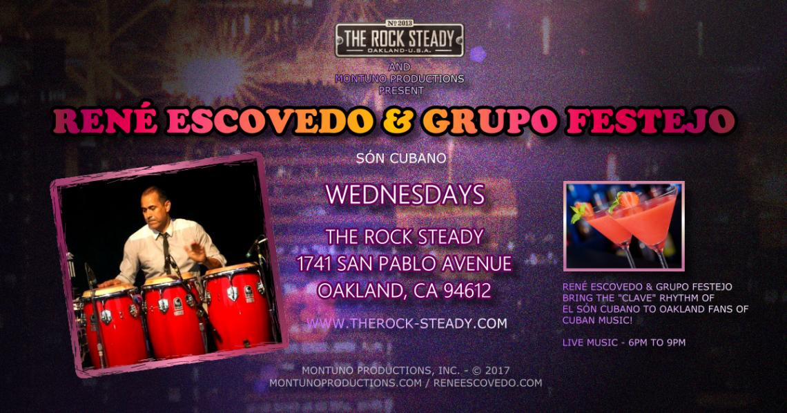 René Escovedo & Grupo Festejo Live at The Rock Steady